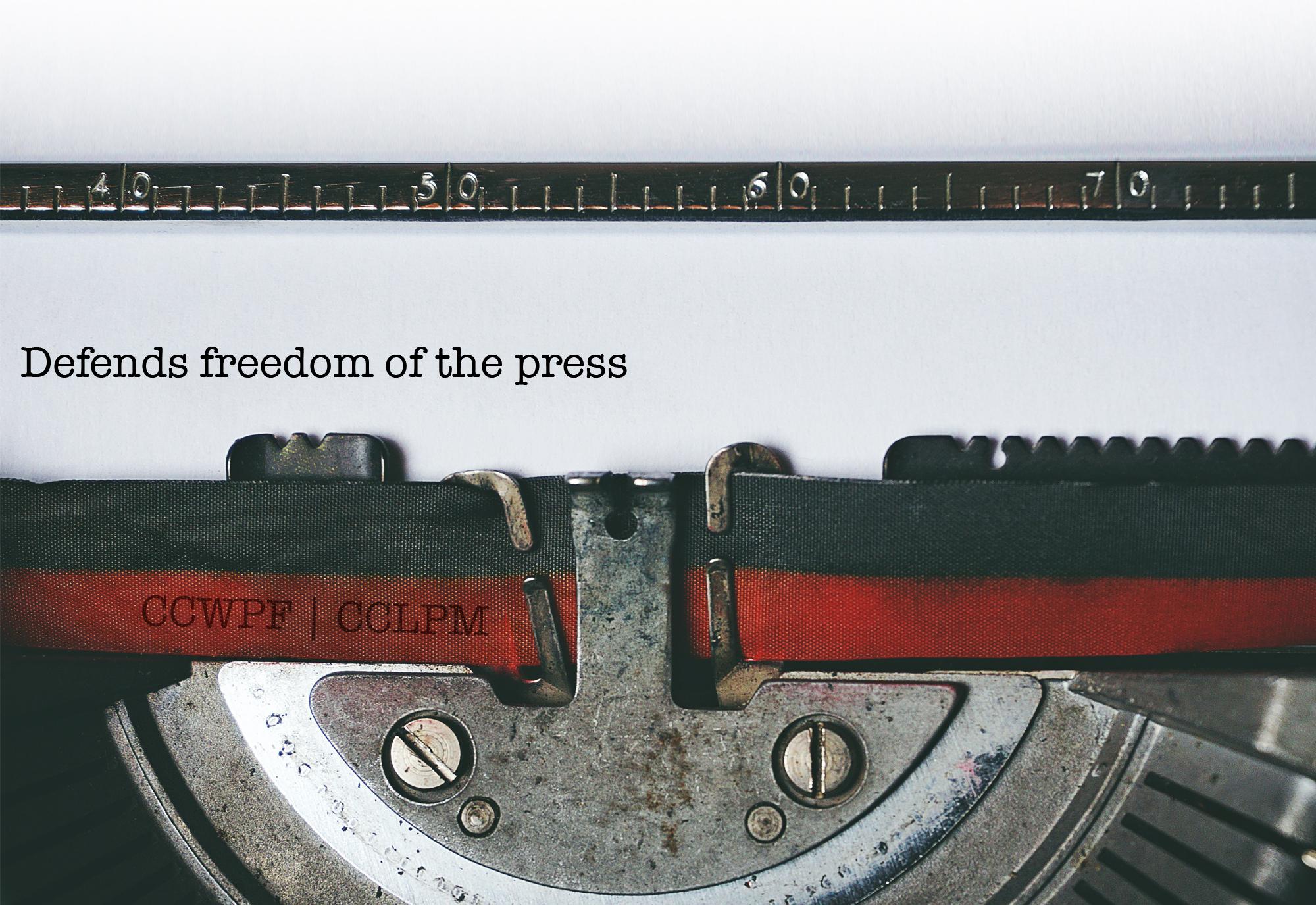 Canadian leaders mark World Press Freedom Day 2020 – Les leaders canadiens soulignent la Journée mondiale de la liberté de la presse 2020